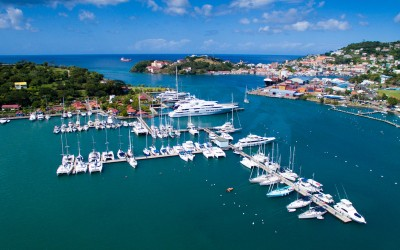 Arial view of Marina for Sale